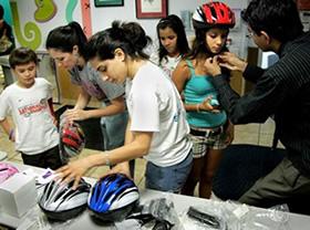 Bike safety program