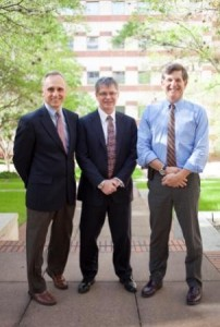 Barry Byrne, M.D., Ph.D., Stephen Kingsmore, M.D. (guest speaker) and Scott Rivkees, M.D.