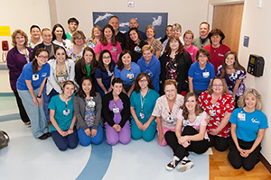 UF Health Shands Children's Hospital PICU Nursing Team