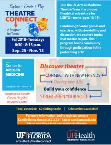 Theatre Connect - Fall 2018