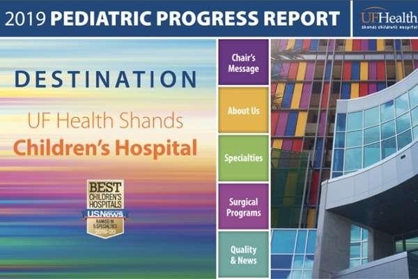 2019 Pediatric Progress Report Cover