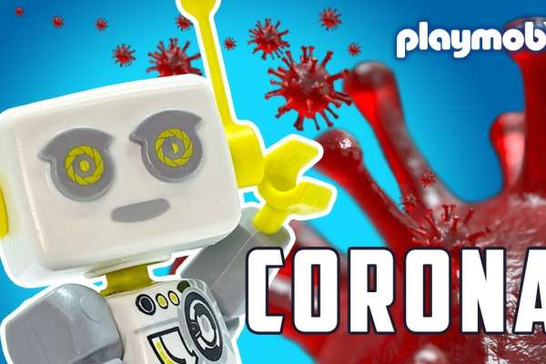 PLAYMOBIL Robot and COVID-19