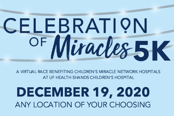 Celebration of Miracles Virtual 5K
