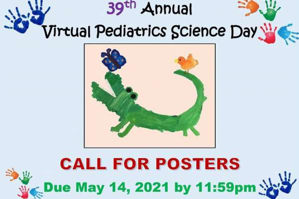 2021 Pediatrics Science Day Poster Submission