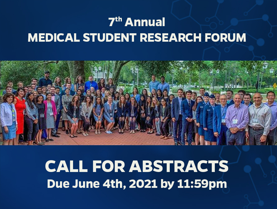 Pediatric Medical Student Research Forum 2021 call from abstracts